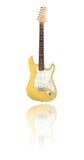 Gitary elektrycznej butterscotch blondynka Obraz Royalty Free