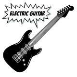 Gitary elektrycznej 6 sznurki zdjęcia royalty free