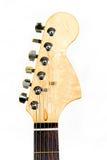 gitary głowy odosobniony biel Zdjęcie Stock