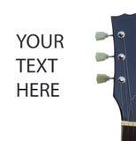 Gitary headstock Zdjęcia Royalty Free