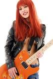 Gitary niemowlę zdjęcia stock