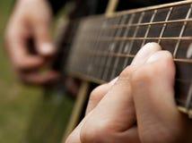 gitarzysta fotografia stock