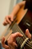 gitarzysta Obrazy Stock