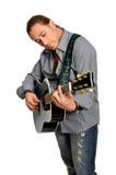 gitarzysta Zdjęcie Stock
