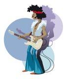 gitarzysta ilustracja wektor