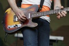 Gitarzysta Zdjęcia Stock
