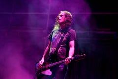 Gitarzysta popiół wykonuje przy MBC Fest (zespół) Obrazy Royalty Free