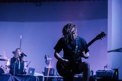Gitarzysta widzię gwiazdy Obraz Stock