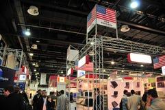 Gitex 2008 - het Paviljoen van de V.S. Royalty-vrije Stock Afbeelding