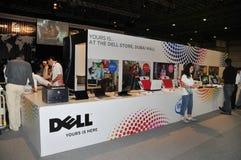 GITEX 2008 - Informação de Dell Imagem de Stock Royalty Free