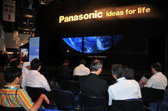 GITEX 2008 - Presentación de Panasonic imagen de archivo libre de regalías