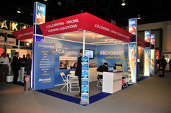 GITEX 2008 - Stall of C.B. Learning UK Stock Image