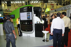GITEX 2009 -Blackberry Royalty Free Stock Image