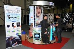 GITEX 2009 - Cabine da informação de Nokia Fotografia de Stock