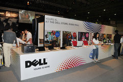 GITEX 2009 - Dell Information Royalty Free Stock Image