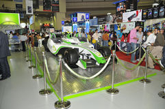 GITEX 2009 -Etisalat Branded Entertainment car Stock Photography