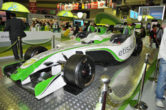 GITEX 2009 -Etisalat Branded Entertainment car Royalty Free Stock Photos
