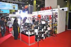 GITEX 2009 - het Paviljoen van de Verdeler van de Sigma Stock Afbeeldingen