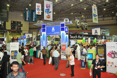 Free GITEX 2009 - Rush In Central Hall Stock Images - 11462774