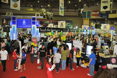 GiTEX 2009 - Rush in Jumbo Stock Photography