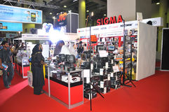 GITEX 2009 - Sigma Distributor Pavilion Stock Images