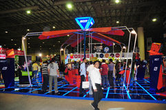Gitex Käufer 2008 - Acer-Spiel-Ecke Lizenzfreies Stockfoto