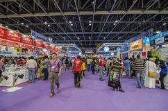 Gitex-Käufer in Dubai Lizenzfreie Stockfotos