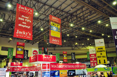 Gitex Shopper 2008 - Branding on banners Stock Photos