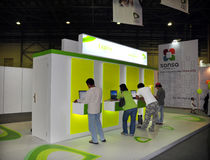 Gitex Shopper 2008 - Etisalat's Explore Horizon Royalty Free Stock Images