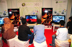 Gitex Shopper 2008 - New Arrived Games Royalty Free Stock Image