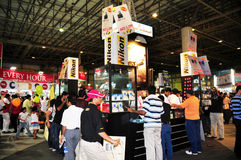 Gitex Shopper 2008 - Nikon Royalty Free Stock Images