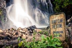 Gitgit siklawa w Bali, Indonezja obrazy stock