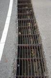 Gitter auf dem Boden Lizenzfreie Stockfotografie