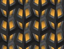 Gitter-nahtloses Muster, Vektor-Illustration Lizenzfreies Stockbild