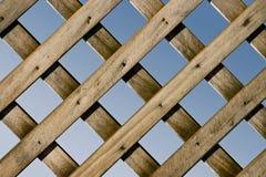 Gitter-Zaun stockbild