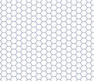 Gitterhintergrund Sechseckige Zellbeschaffenheit, Bienenwabe Lizenzfreie Stockfotos