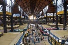 Gittermarkthalle, Budapest Stockbild