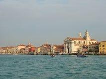 Giudecca Canal in Venice Stock Photo