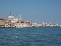 Giudecca canal in Venice Stock Images