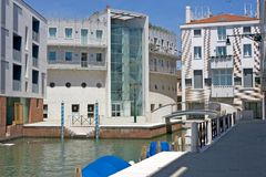 Giudecca island, new houses Stock Photo