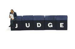 Giudice Fotografie Stock Libere da Diritti