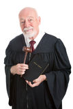 Giudice - Chiesa e Stato Fotografie Stock
