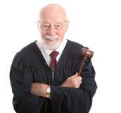 Giudice - saggio e gentile Fotografia Stock Libera da Diritti
