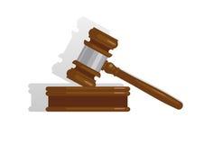 Giudichi il martelletto Fotografia Stock Libera da Diritti