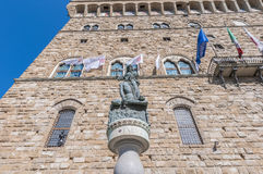 Giuditta e Oloferne statue in Florence, Italy Stock Photography