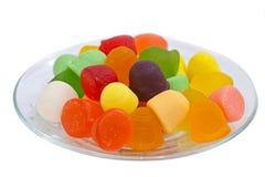 Giuggiola del dessert dell'alimento di Candy Fotografie Stock Libere da Diritti