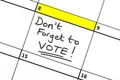 8 giugno elezione generale fotografia stock