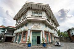 Giugno 30,2018: Vecchia casa spagnola alle filippine delle case di Las, Bataan, Filippine di stile Fotografia Stock