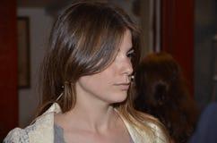 A Giulia bonita Innocenzi Fotos de Stock Royalty Free