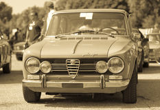 Alfa Romeo Giulia super Stock Photos
